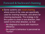forward backward chaining34