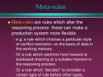 meta rules