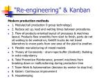 re engineering kanban