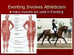 eventing involves athleticism9