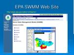 epa swmm web site