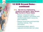 12 scm ground rules continued20