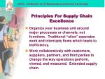 principles for supply chain excellence12