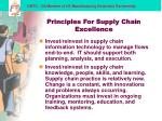 principles for supply chain excellence13