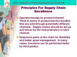 principles for supply chain excellence14