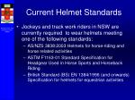 current helmet standards