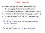 shifting controls