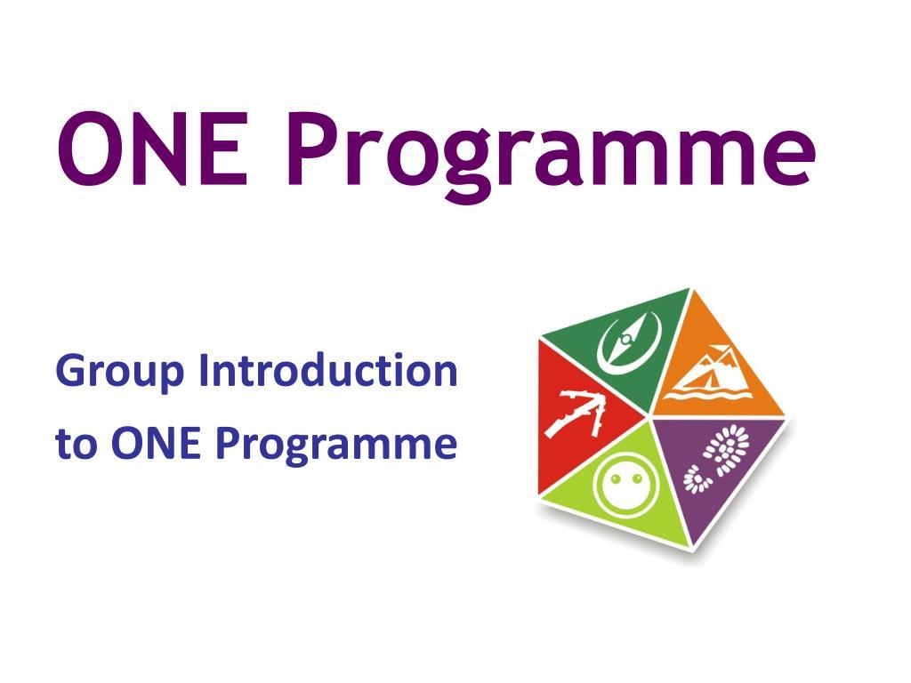 one programme l.