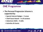 one programme9