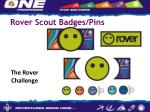 rover scout badges pins