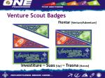 venture scout badges