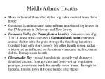 middle atlantic hearths