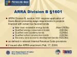 arra division b 1601