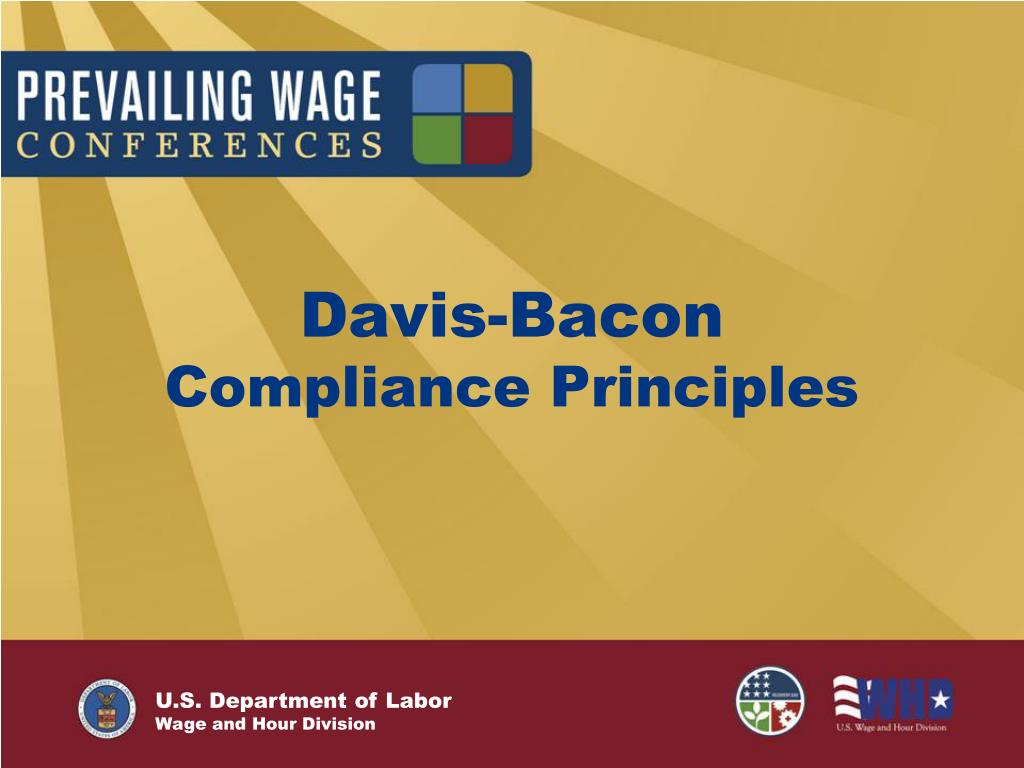 davis bacon compliance principles l.