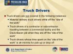 truck drivers12