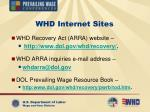 whd internet sites