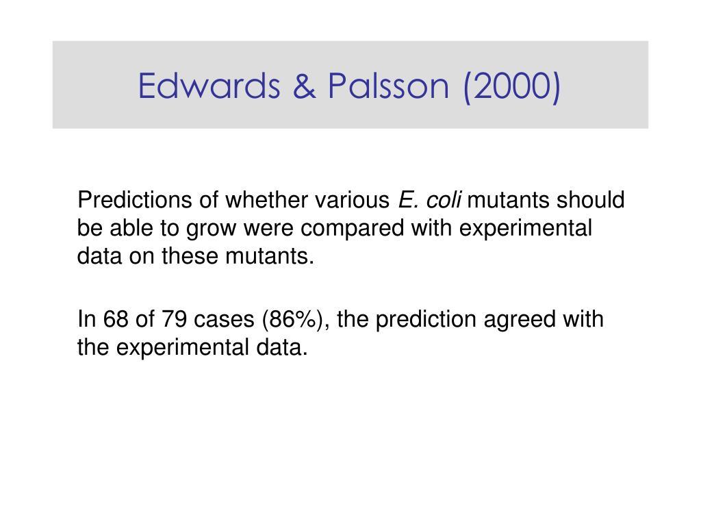 Edwards & Palsson (2000)