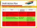 draft action plan