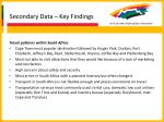 secondary data key findings18