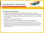 secondary data key findings18