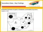 secondary data key findings19