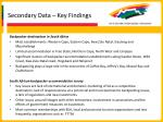 secondary data key findings26