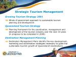 strategic tourism management