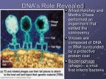 dna s role revealed