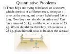 quantitative problems17