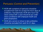 pertussis control and prevention77