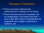 pertussis treatment