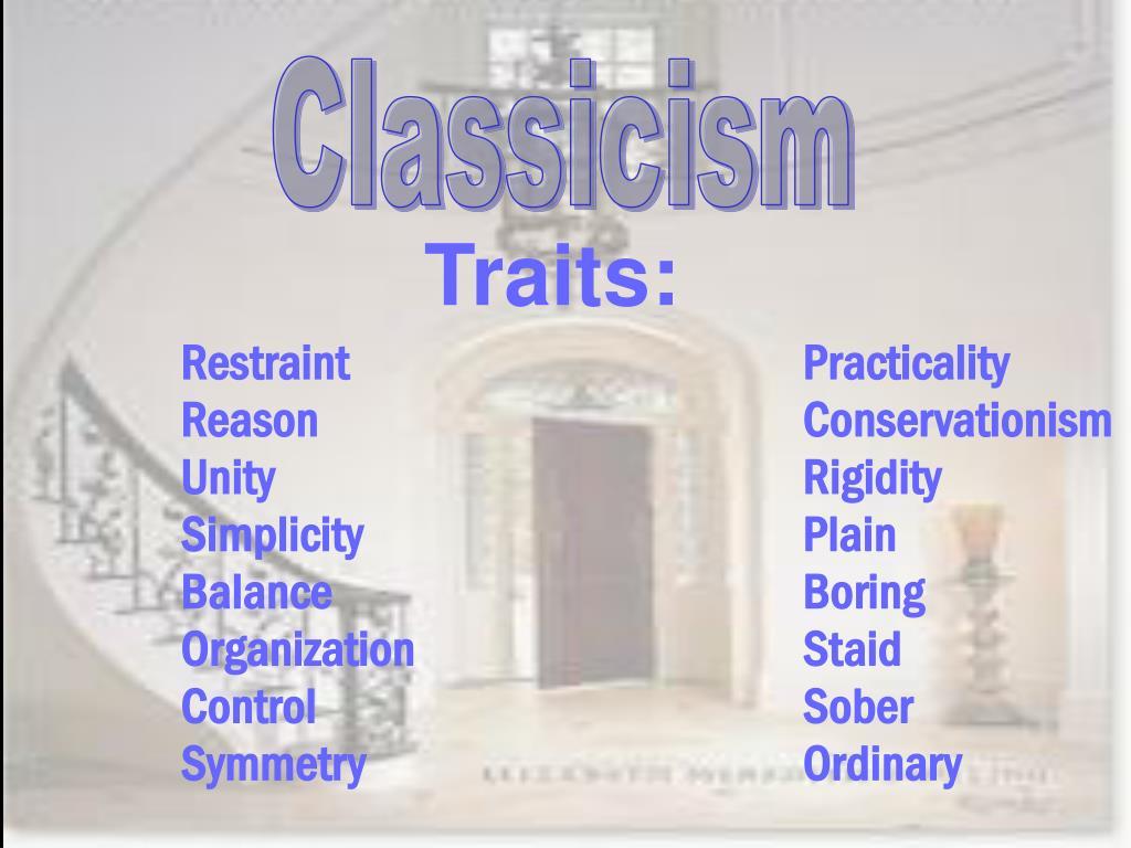 Classicism