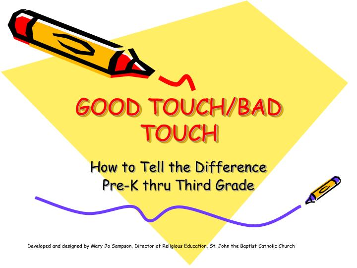 good touch bad touch n.