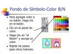 fondo de s mbolo color b n22