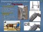improving communication for the horse