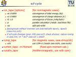 scf cycle