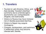 1 travelers