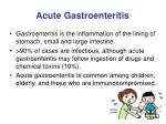 acute gastroenteritis14