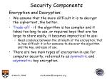 security components22