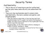 security terms20