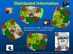 distributed information