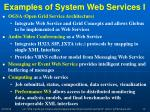 examples of system web services i