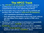 the hpcc track