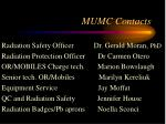 mumc contacts