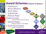 award schemes explorer network