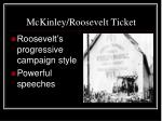 mckinley roosevelt ticket