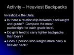 activity heaviest backpacks9
