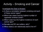 activity smoking and cancer21