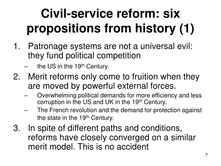 Civil Service History : Ppt civil service reform in developing countries why is