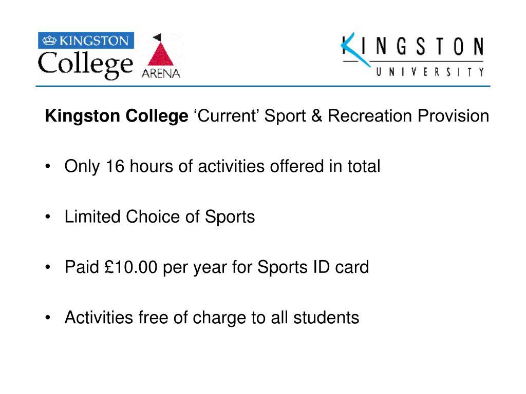 Kingston College